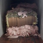 Nylon 66 Airbag - mostly pink color (2)